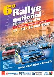 Rallye Dijon Côte d'Or - 12-13 mai 2007
