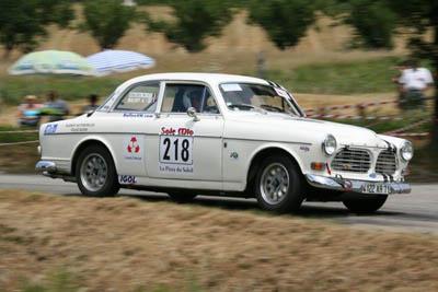 Rallye de le Drôme Paul Friedman